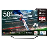 Hisense 50U7QF QLED 126cm (50 Zoll) Fernseher (4K ULED HDR Smart TV, HDR 10+, Dolby Vision & Atmos, Full Array Local Dimming,