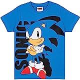 Vanilla Underground Camiseta de Sonic The Hedgehog para niño, Personaje Azul de Dibujos Animados