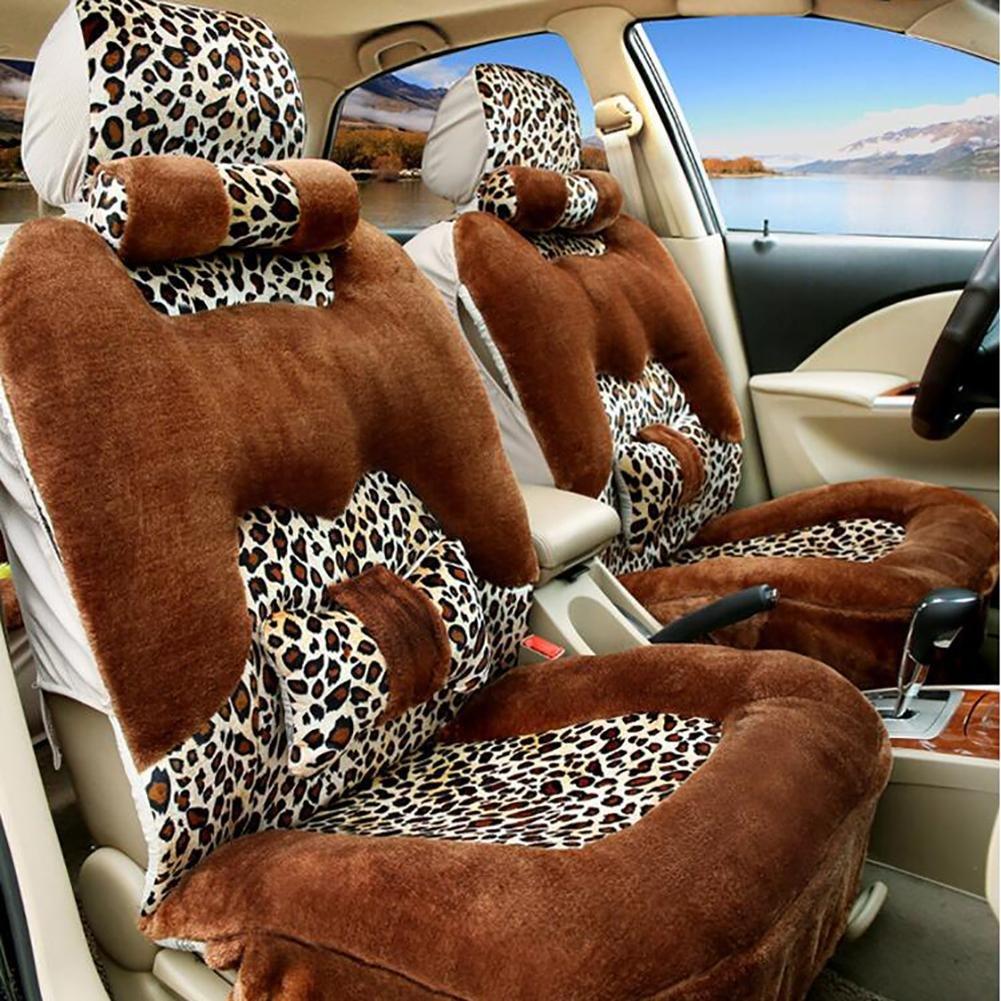 MIAO Fodera per seggiolino auto, inverno cinque posti auto Morbido caldo confortevole modello confor