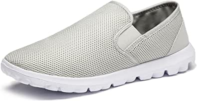 Vibdiv Men's Lightweight Casual Loafers Slip on Shoes Breathable Driving Shoes