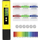 MTURE PH Mètre Numérique, Testeur de qualité de l'eau digital LCD, Plage de Mesure pour 0-14 Ph, 0,01 Ph Précision, pour l'ea