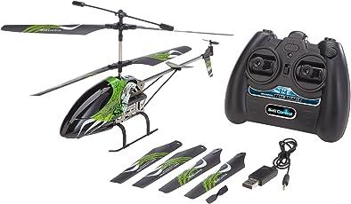 Revell Control 23867 - RC Helikopter, ferngesteuerter Hubschrauber für Einsteiger, 2.4 GHz Fernsteuerung, einfach zu fliegen, Höhensensor, Gyro, stabiles Metall-Chassis, LED-Beleuchtung - Bone Breaker