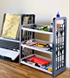 SAURA | 3-Layer Multipurpose Utility Racks| Kitchen Storage | Easy Assembled | Portable | Light Weight | Easy Movement…