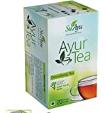 SuAyu - AyurTea – A Better Tasting 100% Natural Green Tea That is Infused with Lemongrass Mint & Tulsi 20 Tea Bags.