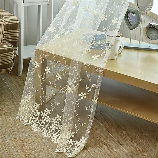 bkff® tulle tende ricamate tulle tende per soggiorno soggiorno ... - Tende X Soggiorno Moderne 2