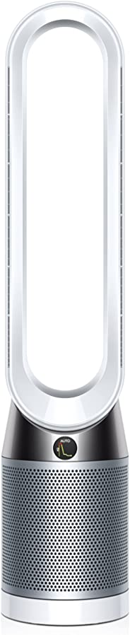 Dyson Pure Cool TP04 Purifying Tower Fan, White/Silver
