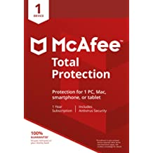 McAfee Total Protection 1 Device [Online Code]