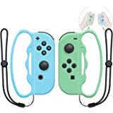 Boxing Grip for Nintendo Switch Joy-Con Fitness Boxing Game,Fit Boxing Clasp Accessories Handle for Adults and Children, 2 Pa