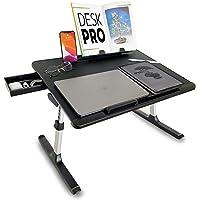 Cooper Desk PRO [XL support ordinateur portable lit réglable hauteur et en angle|plateau de lit, écrire, travailler…