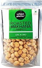 Urban Platter Roasted Makhana, Jalapeno, 100g