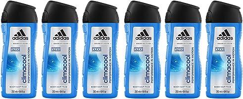 adidas climacool 3in1 Duschgel für Herren - langanhaltendes Frischegefühl und wohltuhendes Duscherlebnis, 6er Pack (6 x...