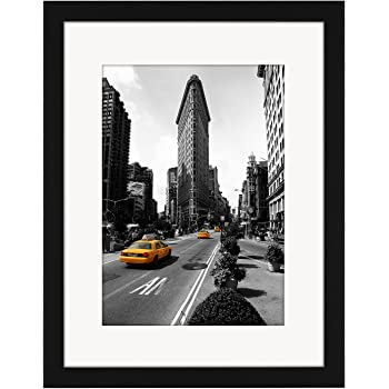 30cm X 40cm Black Picture Frame With Glass Front Made To Display
