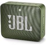 JBL GO 2 Portable Bluetooth Speaker, Moss Green - JBLGO2GRN