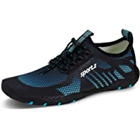 IceUnicorn Chaussures pour Sport Aquatique Homme Femme Trail Chaussures Fitness Chaussures Kayak Chaussons de Plage de d…
