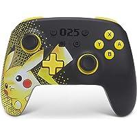 PowerA Enhanced Wireless Controller for Nintendo Switch - Pikachu 025, Nintendo Switch Lite, Gamepad, Game Controller…