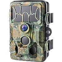 Victure Caméra de Chasse 12Mp 1080P Détecteur de Mouvement Infrarouge de Vision Nocturne de Grand Angle 120° Étanche…