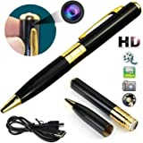Sekuai Pen Camera with Video Audio Recording HD Voice Quality, Business Portable Recorder