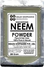 Neem Powder (Azadirachta indica) Anti-Dandruff Hair DIY Packs & Anti-Acne Face Pscks (400 gm / 14 oz / 0.88 lb)