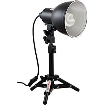 PhotoSEL LS11E21 26-40cm Tabletop Studio Lighting Kit