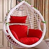 Hanging Egg Hammock Chair Cushion Single,swing Chair Seat Pad,balcony Bird's Nest Seat Cushion Breathable Chair Pad Courtyard