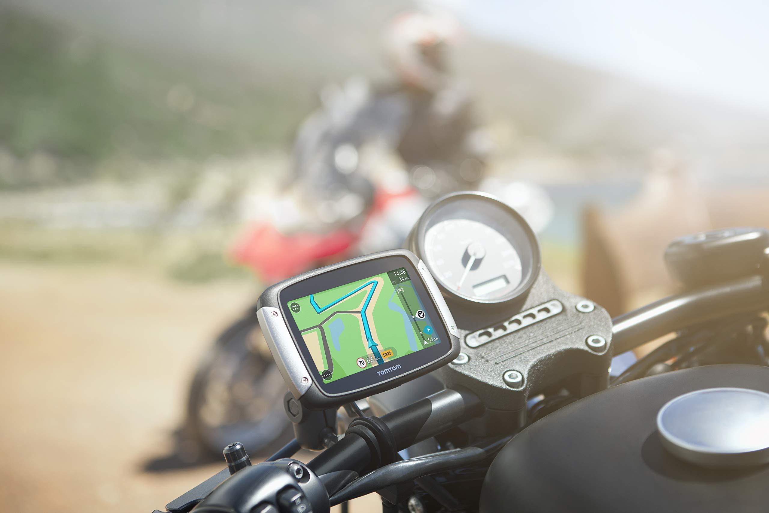 TomTom-Motorradhalterungsset-und-RAM-fr-Motorrad-Navigationsgert-Rider