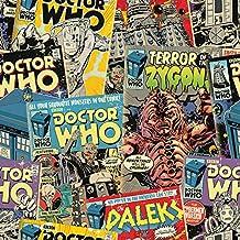Dr Who Comic papel pintado (wp4-dwh-com-12)