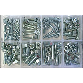 "Assorted 3//8/"" UNF Zinc Plated Bolts With Shanks /& Set Screw Fully Threaded Bolts"