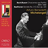 A.B.Michelangeli Interpreta Bach/Busoni Y Beethoven
