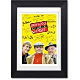 Memorabilia Only Fools and Horses Cast Signed Autograph A4 Poster Photo Print Photograph Artwork Wall Art Picture TV Show Ser