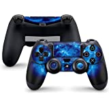 Sony Playstation 4 Controller Skin - Design Schutzfolie Sticker Aufkleber Set Styling für PS4 Controller (Auch PS4 Slim & PS4 Pro)