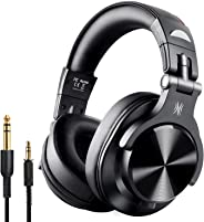 OneOdio A7 Fusion Bluetooth Over Ear Headphones, Studio DJ Headphones with Share-Port, Wired and Wireless Professional Monito