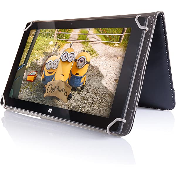 Universal WALLET CASE COVER FITS Irulu expro X1A 9 Pollici Tablet PC