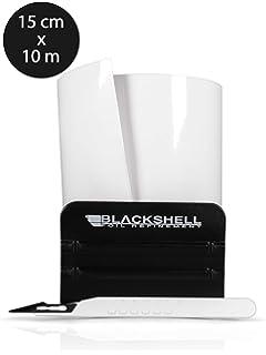 1331-100 V-Protect Ladekantenschutz Lackschutzfolie Schutzfolie Lackschutz Sto/ßstangenschutz Carbon Schwarz 3D 160/µm