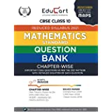 Educart CBSE Maths Class 10 Question Bank (Reduced Syllabus) for 2021