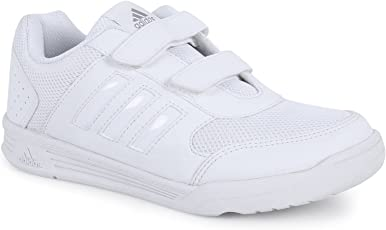 Adidas White school shoes - Sports shoes Kids range (3 to 12 years)