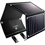RAVPower Solar Ladegerät 16W 2 Port USB Solarladegerät Outdoor, Tragbares Leicht USB Solarpanel Handy Ladegerät, Faltbar…