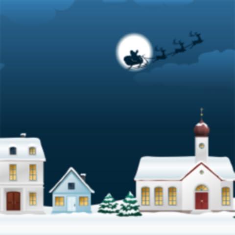 Winter Village Live Wallpaper
