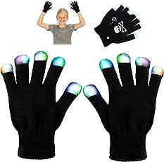 LED Flashing Handschuhe - Neuheit Spielzeug