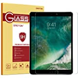 OMOTON Panzerglas Schutzfolie für iPad Pro 10.5 [2017], 9H Härte, Anti-Kratzen, Anti-Öl, Anti-Bläschen,lebenslange Garantie