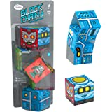 ThinkFun 76425 Block Chain:Roboter - Die neuen Brainteaser für Mädchen und Jungen ab 8 Jahren. Gehirntraining mit Würfelkette