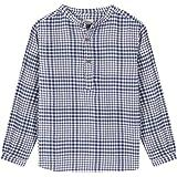 Gocco Camisa Villela Cuadros Azul Shirt para Niños