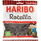 HARIBO Rotella Gusto Liquirizia 175 Gr Sfuse Caramelle Morbide Gommose Irresistibili Per Adulti E Bambini Perfette Per Party