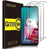 QULLOO Pellicola Protettiva per Motorola Moto G9 Play/Moto G10 / Moto G30, [3 Pezzi] 9H Durezza Full Coverage Protezione Sche