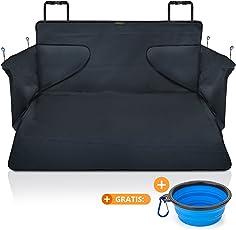 Kofferraumdecke für Hunde XXL – Kofferraumschutz für jedes Auto – hochwertiges Material – fängt Nässe, Schmutz & Haare – robuste Hundedecke mit Seitenschutz 175*105*36 cm von SMARTPEAS