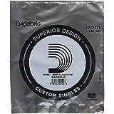 D'Addario J6201, cuerda individual de acero para mandolina.010