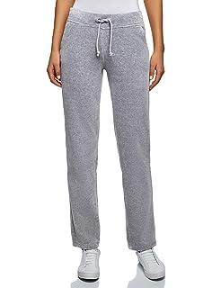 Pantalon Sport Femme Elégante Confortable Velours Large Jambe ... 1e8d85fb84e