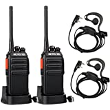 Retevis RT24 Walkie Talkie Recargable, Walkies Profesionales, PMR446 sin Licencia 16 Canales CTCSS/DCS VOX, Walkie Talkie con