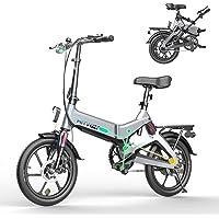 HITWAY Elektrofahrrad Klapprad Ebike Elektrofahrräder S-Pedelec Klappräder Faltrad 250W elektrisches Fahrrad E-Bike mit…