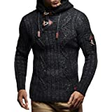 Leif Nelson Men's Pullover Knit Sweater LN-5400