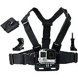 LONDON FAB Sangles de caméra d'action, compatibles avec Toutes Les caméras Gopro et d'action